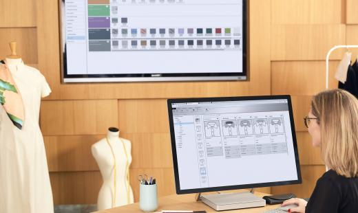 Technology solutions for fashion, automotive and furniture